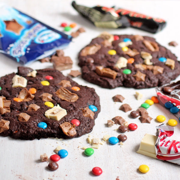 Giant Chocolate Candy Cookie Recipe