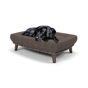 Branoch medium luxury dog beds in Celtic Thistle - Machine washable dog beds from Berkeley Cole.