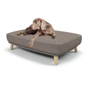 Burford large luxury dog beds in Erin Cobble - Machine washable dog beds from Berkeley Cole.