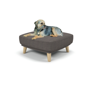 Burford - Small posh dog beds uk from Berkeley Cole - Erin Pewter