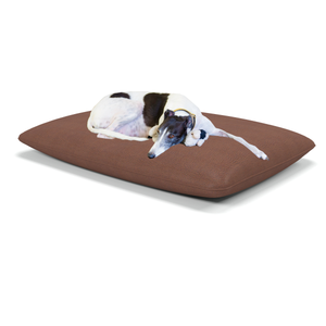 Ambora large luxury dog beds in Tobacco - Machine washable dog beds from Berkeley Cole.