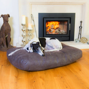 Altara Claw-Proof Luxury Dog Bed - Luxury Pet Furniture - Graphite