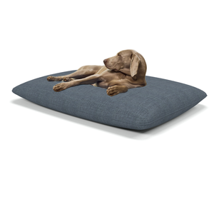 Henna large luxury dog beds in Erin Ink - Machine washable dog beds from Berkeley Cole.