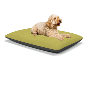 Luxor large luxury dog beds in Erin Lime - Machine washable dog beds from Berkeley Cole.