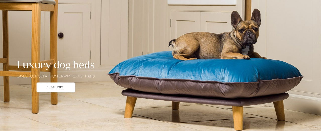 Berkeley Cole Luxury Dog Beds - Fabulous washable dog beds - Raised dog beds - Red Setter2