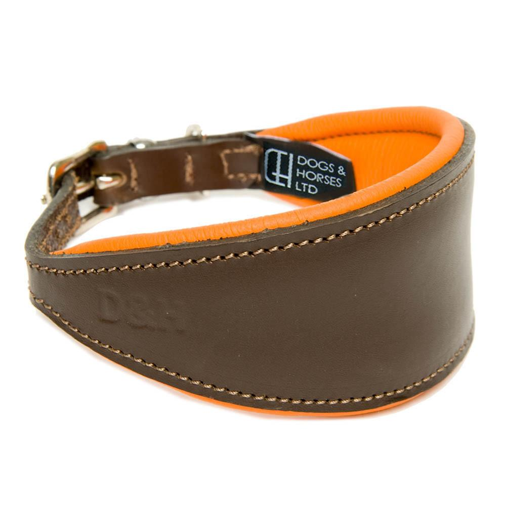 D&H Contemporary Leather Hound Collar