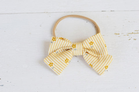 Sadie Bow in Prairie Stripe