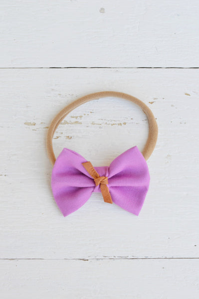 Orchid Sawyer Bow