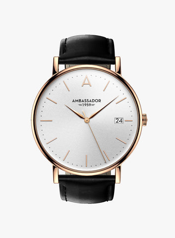 Heritage 1959 – Rose Gold & Black
