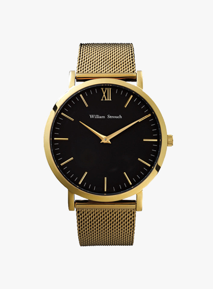 Black & Gold CM Watch
