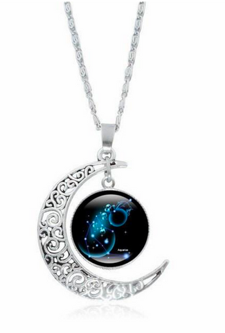 Zodiac Art Necklace
