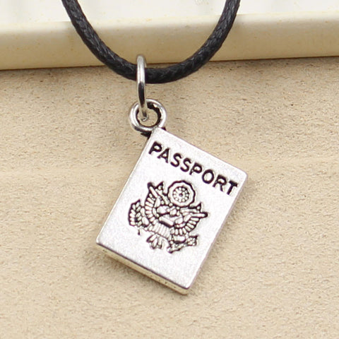 Passport Necklace
