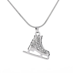 Ice Skating Shoe Necklace