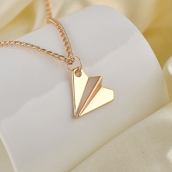 One Direction Airplane Necklace