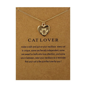 Cat Lover Necklace (Free + Shipping)