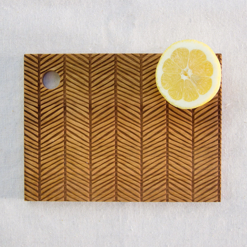 Cutting Board (Herringbone) - Mainland Revival LLC.