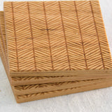 Coaster (Herringbone) - Mainland Revival LLC.