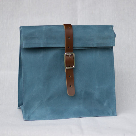 Lunch Bag (Light Blue) - Mainland Revival LLC.