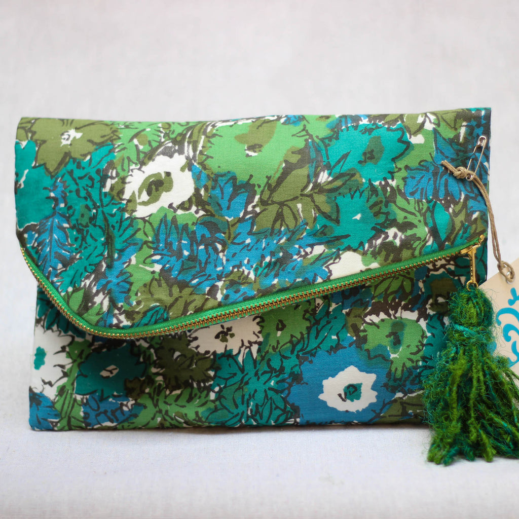 Florence Folded Clutch - Mainland Revival LLC.
