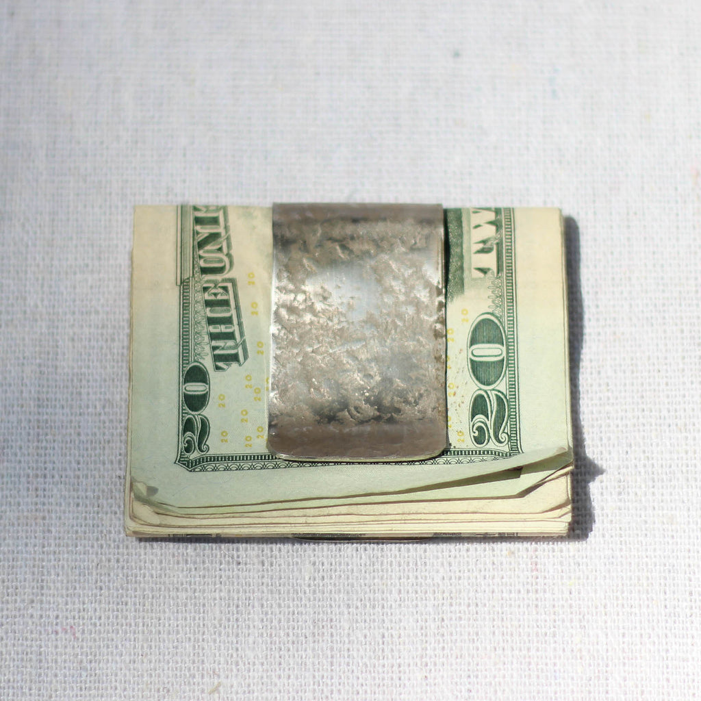 Money Clip (Silver Nickel) - Mainland Revival LLC.