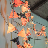 Paper Pyramid Light Garland (Sun) - Mainland Revival LLC.