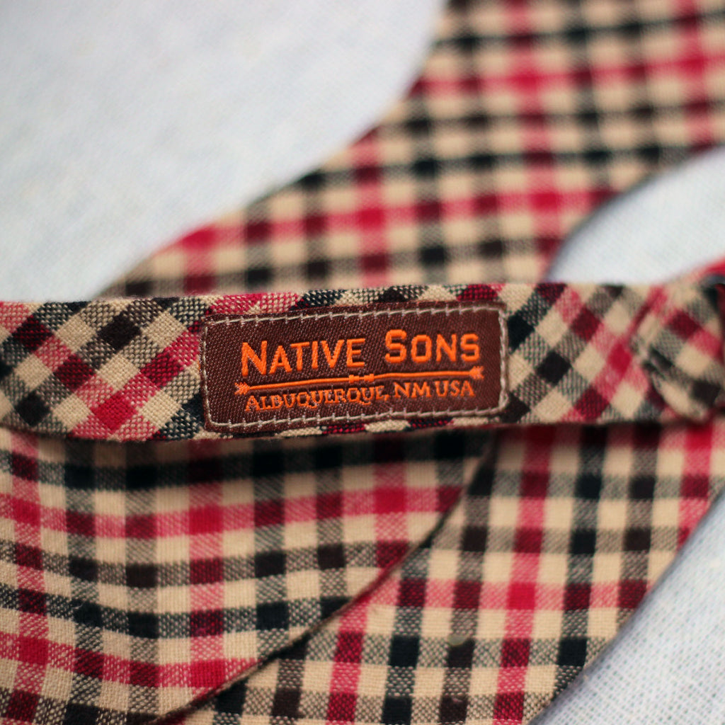Bow Tie (Plaid) - Mainland Revival LLC.