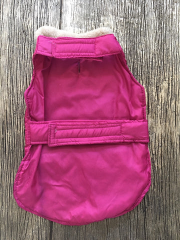 Doggie Hot Pink Jeweled Puffer Jacket