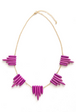 Jenny Necklace - Suede Boutique  - 1