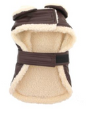 Doggie Faux Leather Bomber Harness & Leash - Suede Boutique  - 4