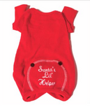 Doggie Christmas PJ's Santas Lil Helper - Suede Boutique  - 2