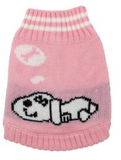 Doggie Dreaming Pink Sweater - Suede Boutique  - 2