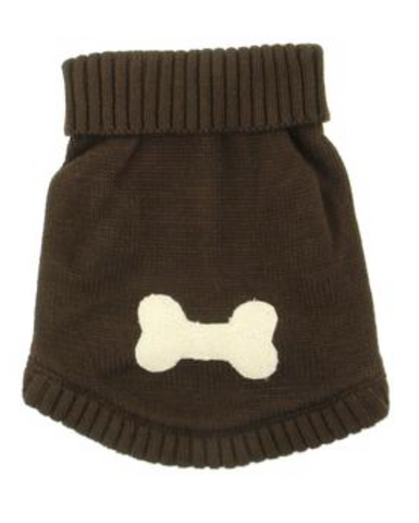 Doggie Brown Bone Sweater