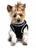 Doggie T-shirt - Black - Suede Boutique  - 1