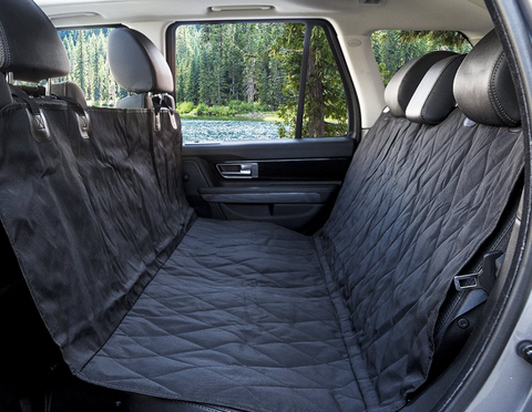 Doggie DuraPaws Luxury Pet BackSeat Cover