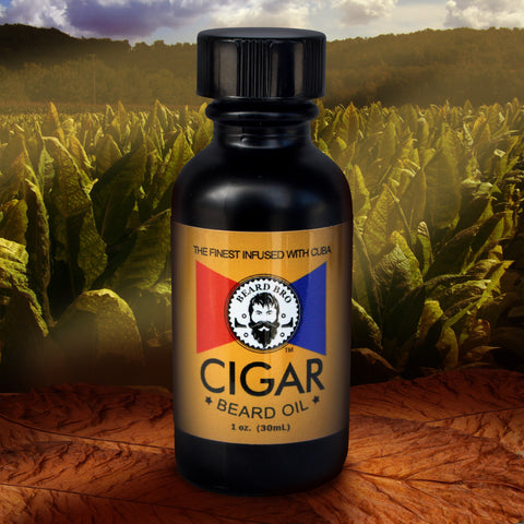 Cuban Cigar Beard Oil by Beard Bro - Beard Bro LLC