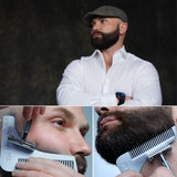 First ever and Original Beard Bro Complete Beard Shaping Tool , made in the USA . Beard styles . beard tools . beard shaping, beards bearded,