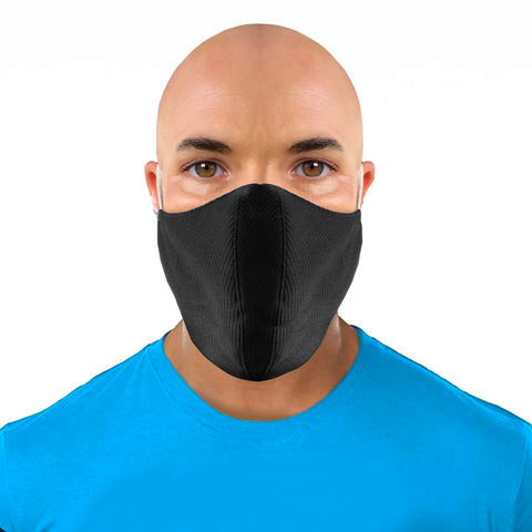 Black Face Mask for Small or Big Beards