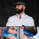 The Beard Bro Beard Shaping Tool with Cuban Cigar Scented Beard Oil