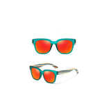 Melbourne Collection Skateboard Wood Polarized Sunglasses- 5 Colors
