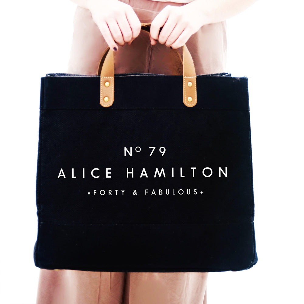 Personalised Bag | 40th Birthday Gift | Personalised Shopping Bag | Gift ideas for Her | Custom Beach Bag | Custom Bag | Custom Shopping Bag - Glam & Co Designs Ltd