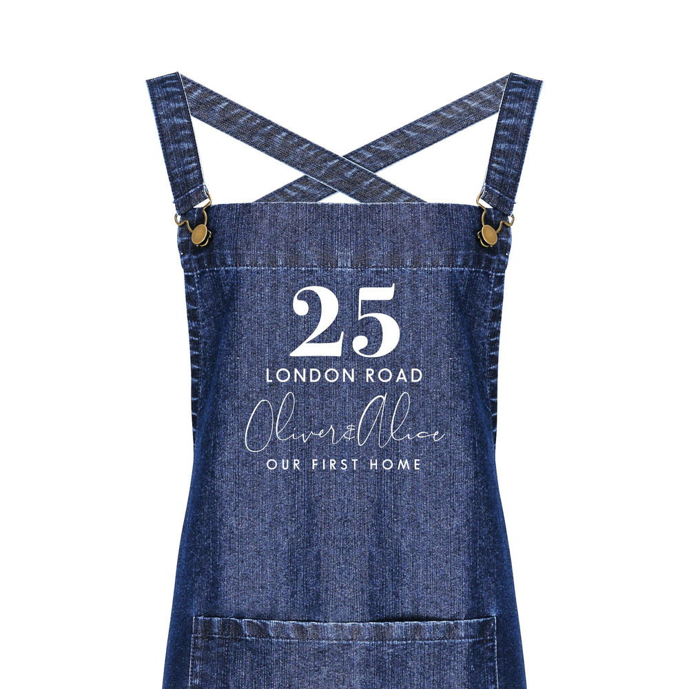 Personalised Barista Apron | Our First Home Apron