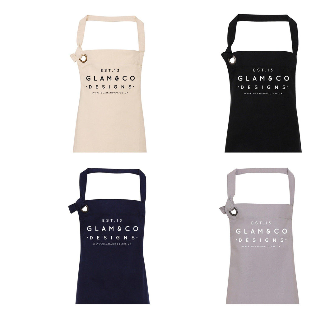Logo Apron | Aprons for Women | Aprons for Men | Logo Aprons UK