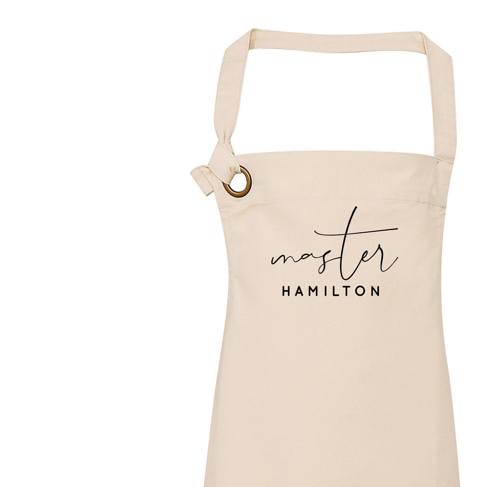 Personalised Aprons for Women and Men, Mr Apron - Glam & Co Designs Ltd