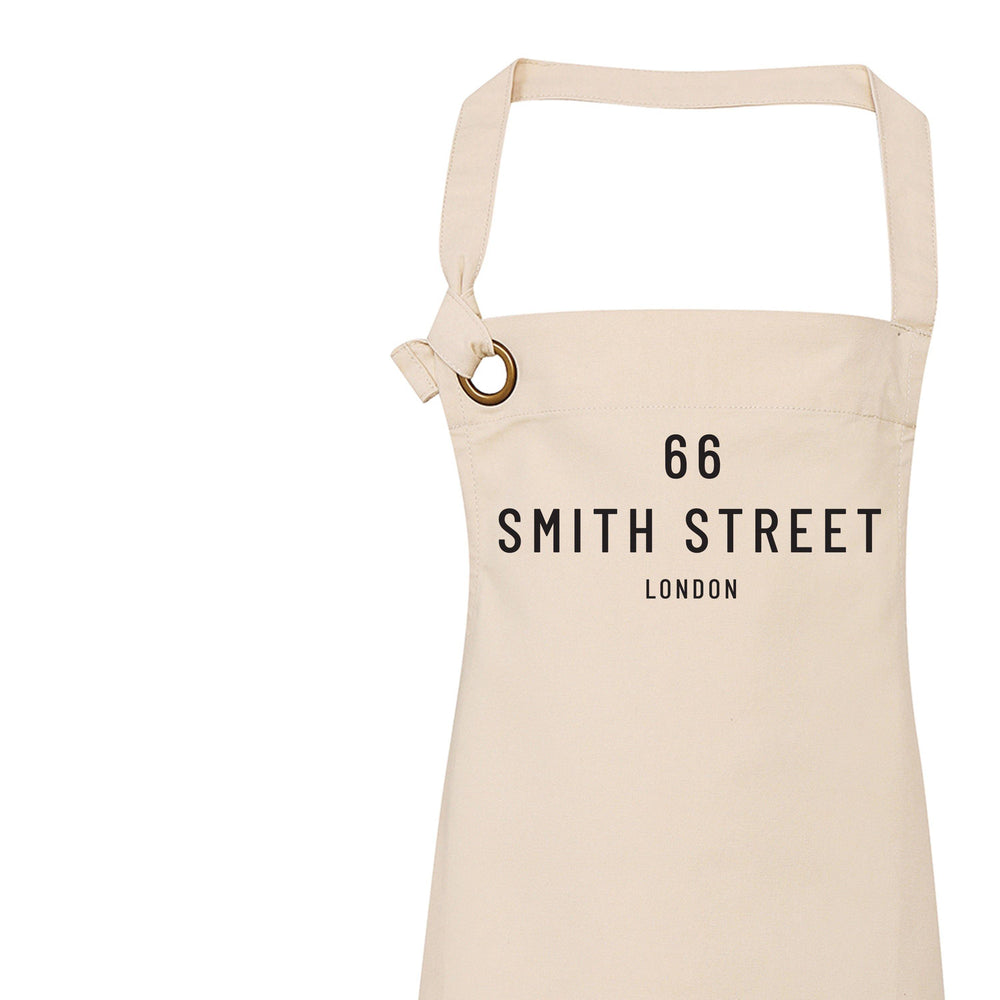 Personalised Apron | Home Warming Gift - Glam & Co Designs Ltd