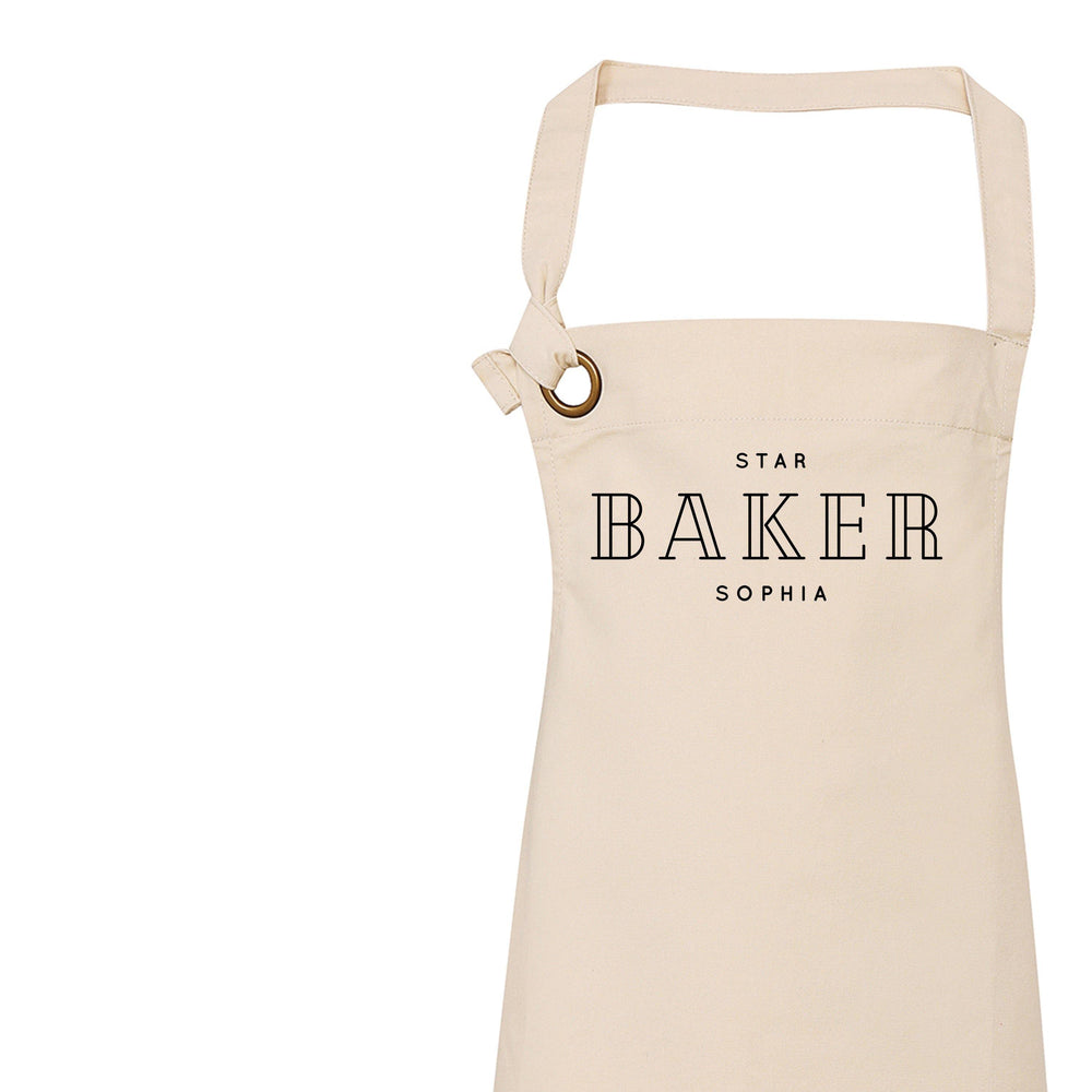 Personalised Aprons for Men and Women | Personalised Apron Head Chef, Master Chef, Sous Chef - Glam & Co Designs Ltd