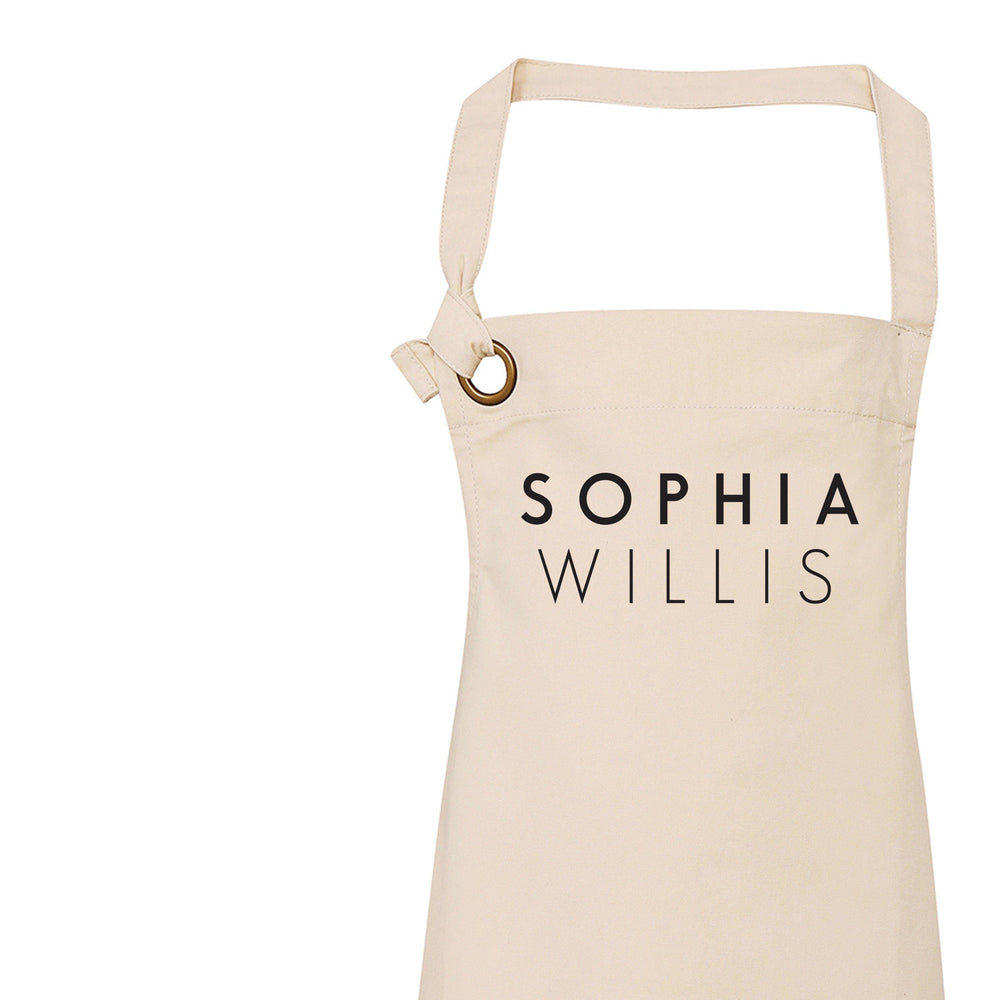 Personalised Apron | Aprons for Women - Glam & Co Designs Ltd