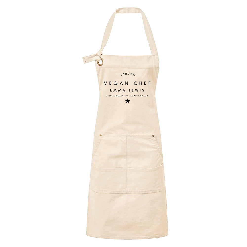 The Vegan Chef Natural Apron