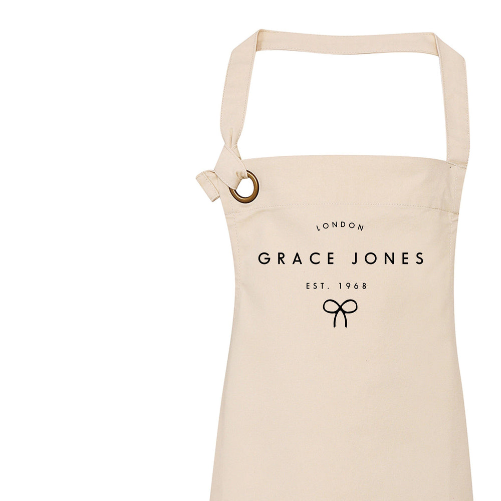 Personalised Apron for Women | Birthday Gift Ideas | Personalised Apron | Custom Apron | 18th 21st 30th 40th 50th 60th Birthday Gift Ideas - Glam & Co Designs Ltd