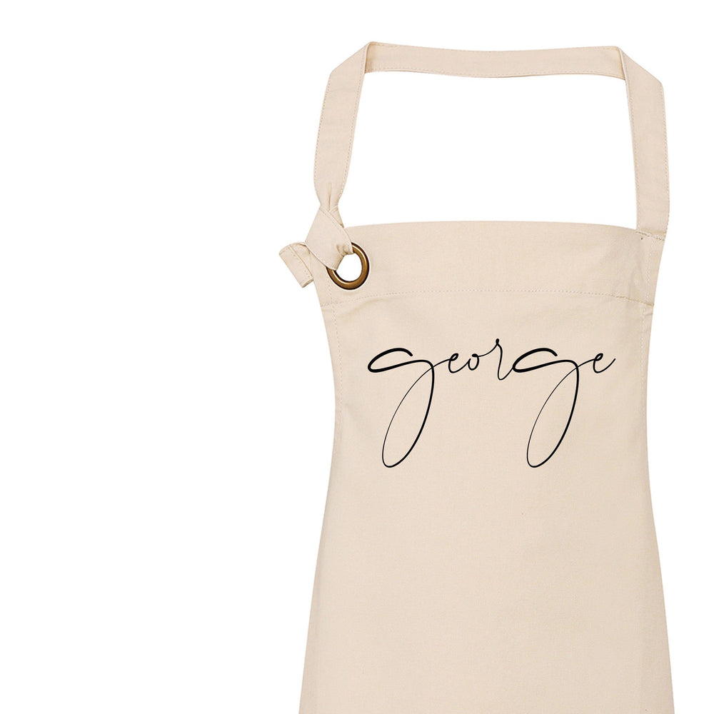 Personalised Apron | Custom Apron | Aprons for Men | Personalised Apron for Him | Personalised Apron | Father Day Gift Ideas | Custom Apron - Glam & Co Designs Ltd