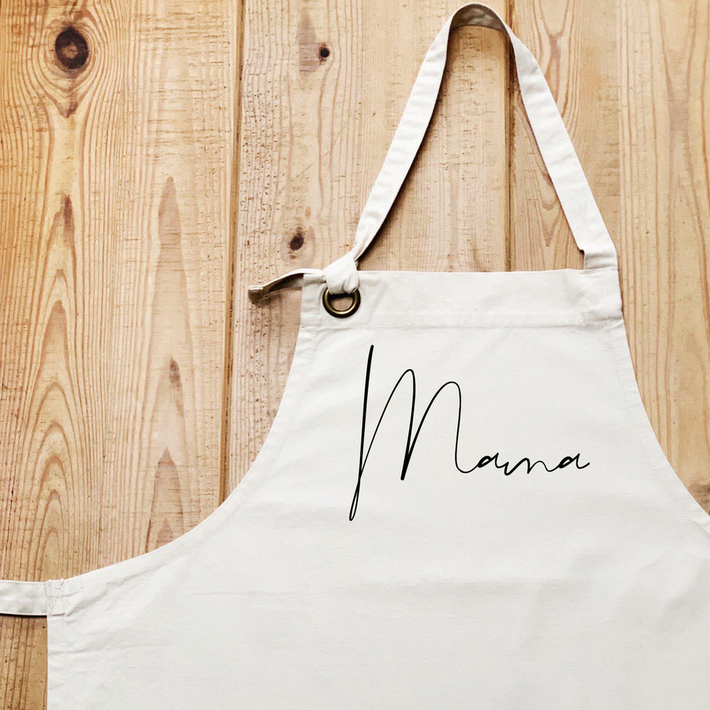 Mothers day Gift Ideas | Mama Apron | Personalised Apron | Gift ideas for Her | Custom Apron - Glam & Co Designs Ltd